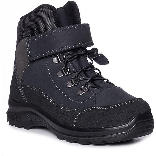 Утепленные ботинки Котофей фото
