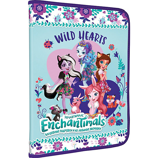 Академия групп Папка для тетрадей Холдинг Enchantimals А4