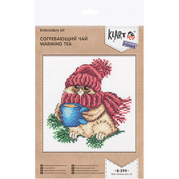 Klart Набор для вышивания Согревающий чай
