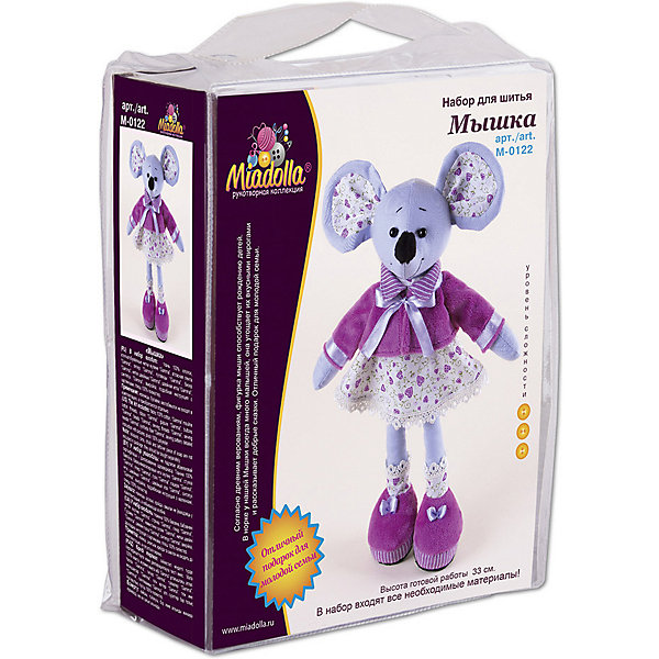 Набор для шитья игрушки Miadolla Мышка 13103179