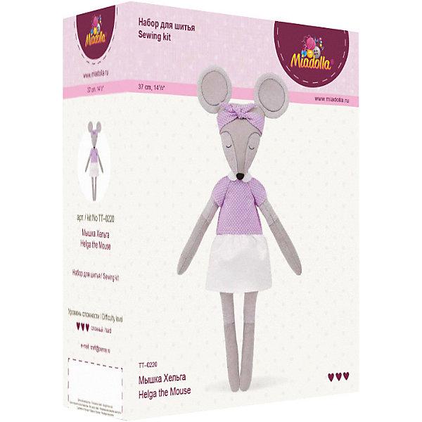 Miadolla Набор для шитья игрушки Мышка Хельга