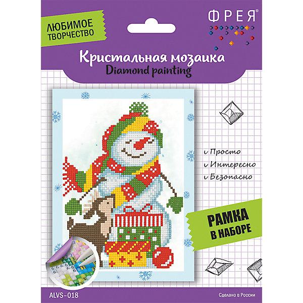 Купить Кристальная мозаика Фрея, Снеговик, Россия, Унисекс