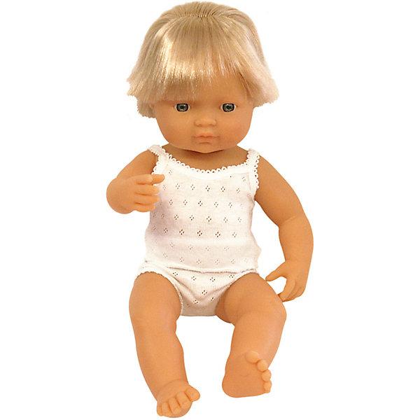 Кукла Miniland Мальчик европеец, 38 см 13116526