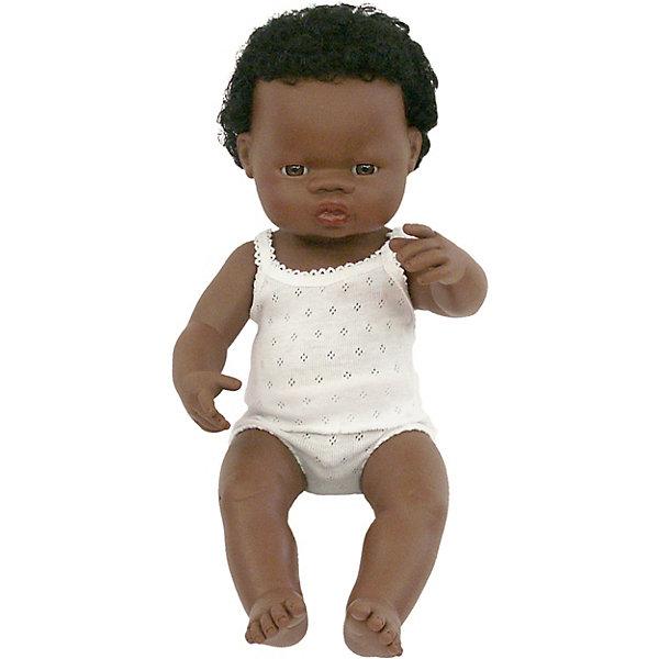 Кукла Miniland Мальчик африканец, 38 см 13116528