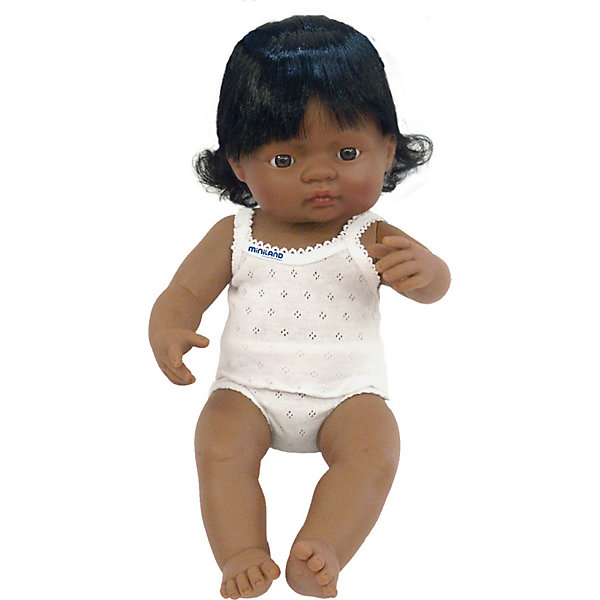 Кукла Miniland Девочка латиноамериканка, 38 см 13116530