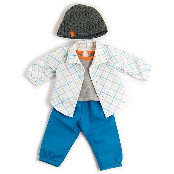 Miniland Комплект одежды для куклы Miniland 40 см цены