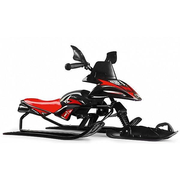 Купить Снегокат-снегоход Small Rider Scorpion Solo, черно-красный, Китай, Унисекс