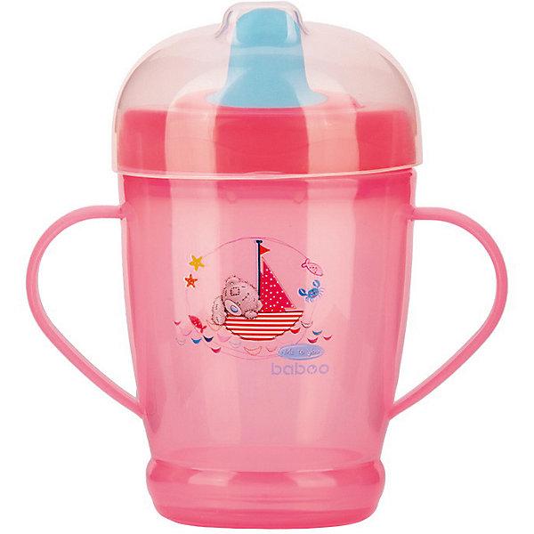 цена на Baboo Кружка-поильник Baboo Me to You 250 мл, розовая