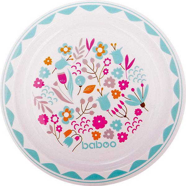Baboo Тарелка плоская Flora