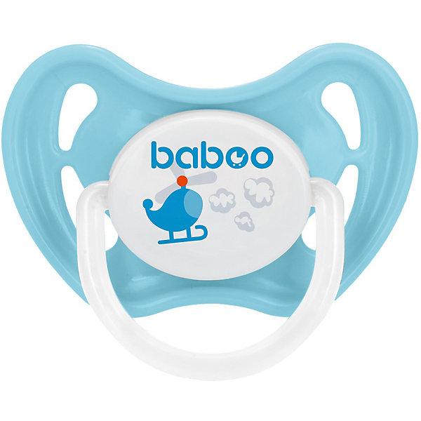 Купить Соска-пустышка латексная Baboo Tansport с 6 мес, Таиланд, Мужской
