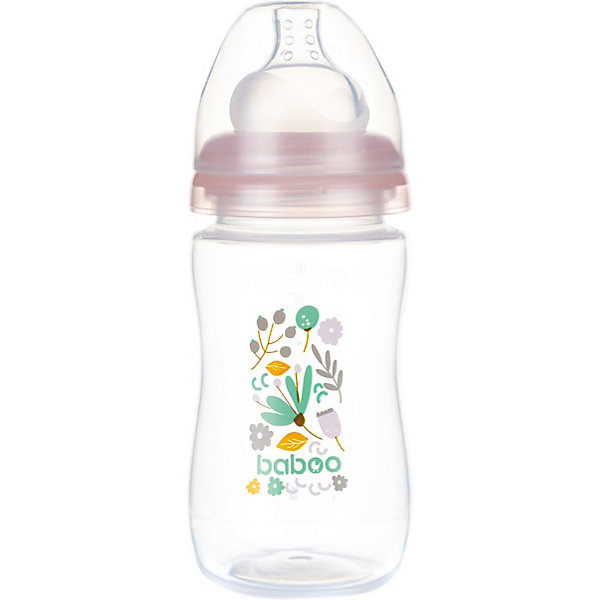 Baboo Бутылочка для кормления Flora 230 мл