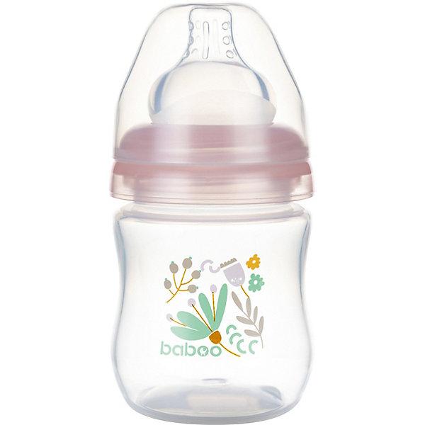 Baboo Бутылочка для кормления Flora 130 мл