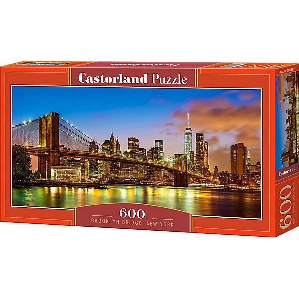 Castorland Пазл Бруклинский мост, Нью-Йорк, 600 деталей