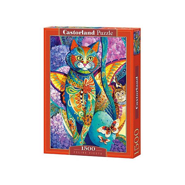 Пазл Castorland Кошачья фиеста, 1500 деталей 13138051