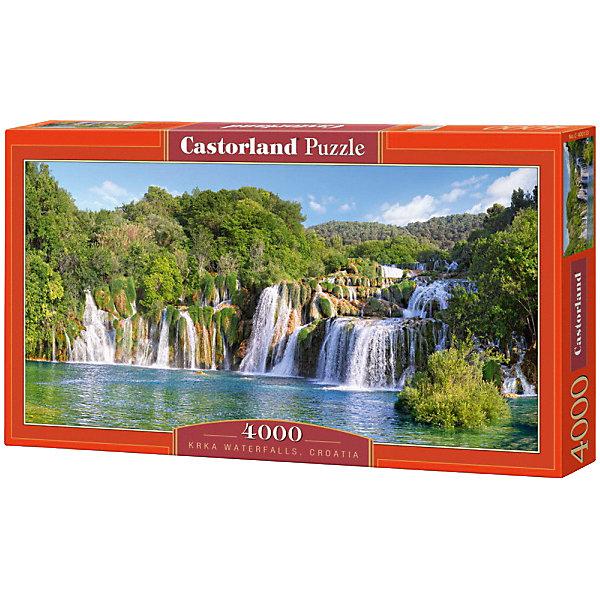 Castorland Пазл Водопады Крка, Хорватия, 4000 деталей