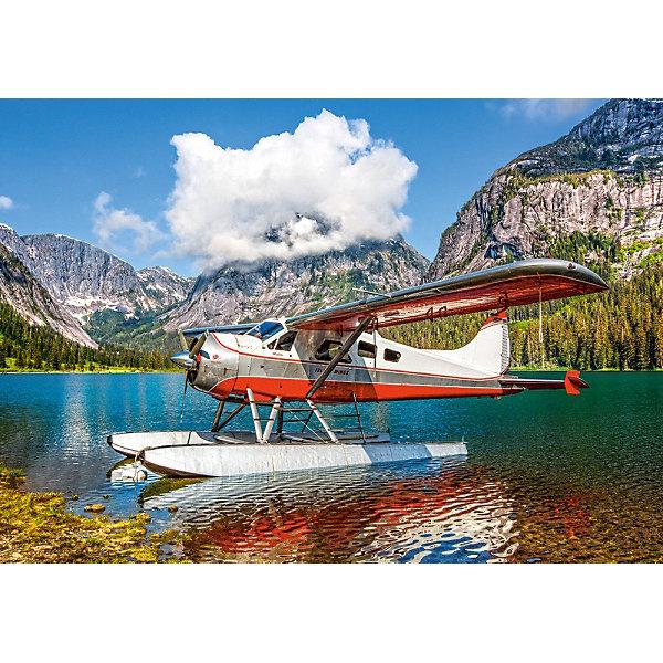 Пазл Castorland Самолет на горном озере, 500 деталей 13138091