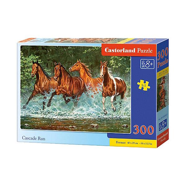 Купить Пазл Castorland Лошади, бегущие по воде , 300 деталей, Польша, Унисекс