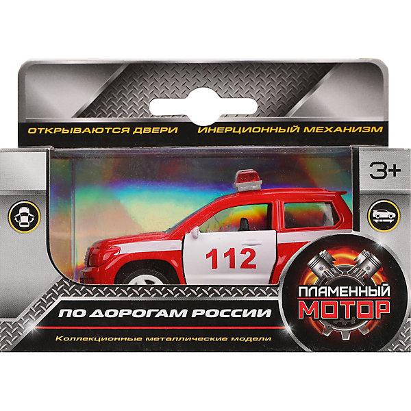 Пламенный мотор Машина металлическая Пожарная охрана