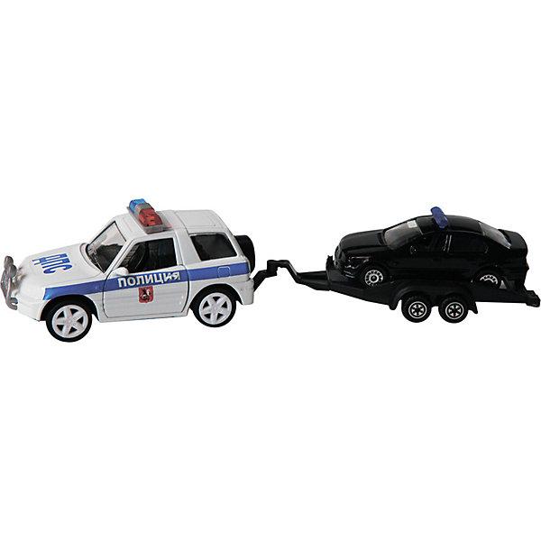Пламенный мотор Набор машин Полиция ДПС