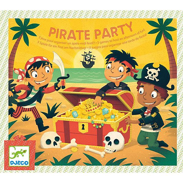 DJECO Настольная игра Пираты