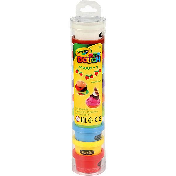 Купить Набор для лепки из теста Crayola Мидл + 1 , Китай, Унисекс