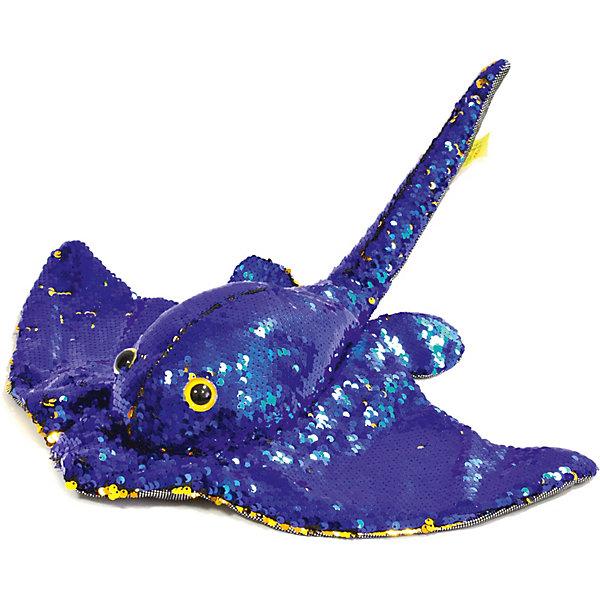 Devik Toys Мягкая игрушка Devik Скат Нелли maxi toys мягкая игрушка антистресс черепашка геля цвет синий 43 см