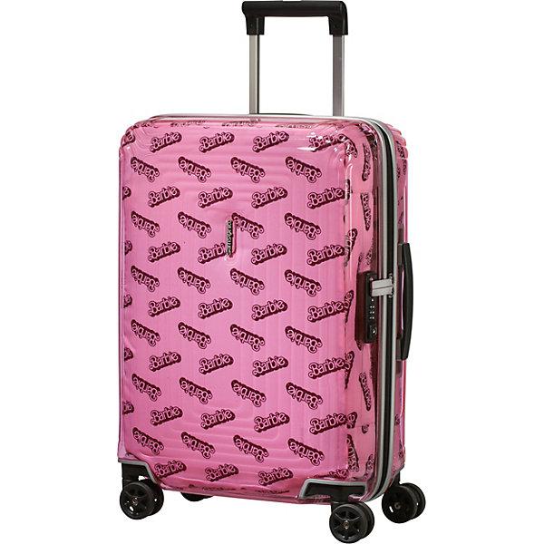 сумка samsonite сумка чемодан 55 см ziproll 40x55x20 см Samsonite Чемодан Samsonite Barbie, высота 55 см