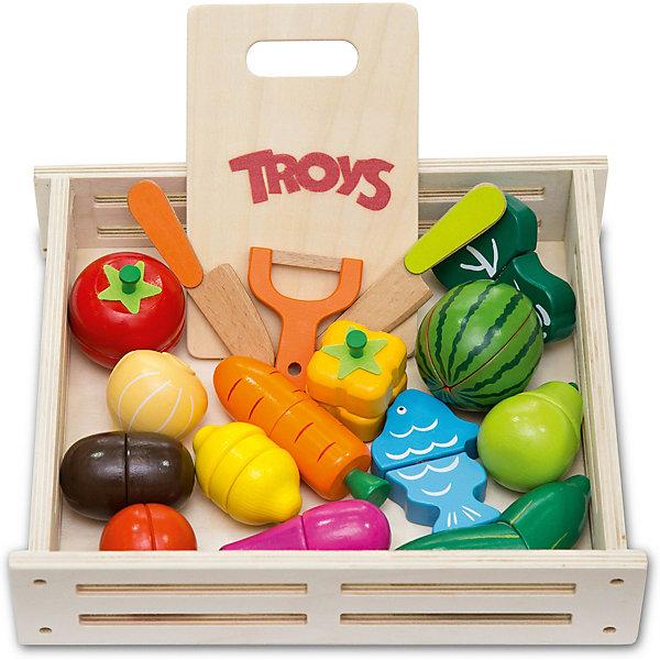 Troys Игровой набор Troys Овощи и фрукты