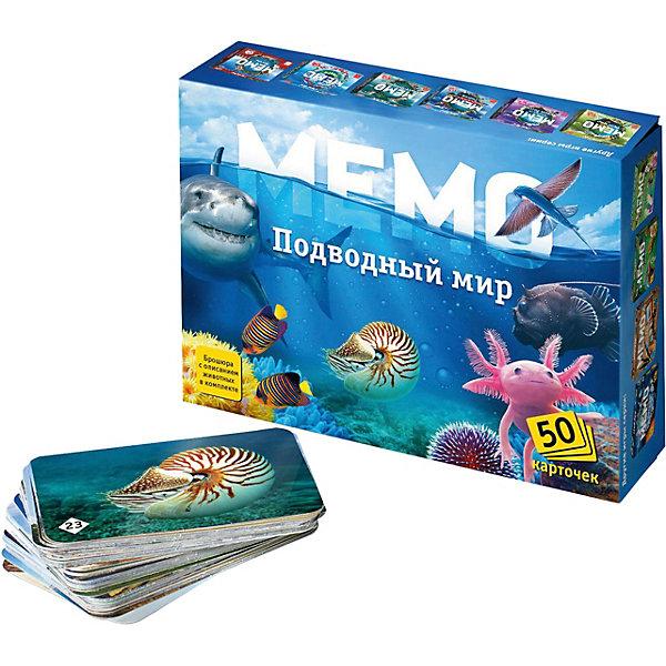 Нескучные игры Карточная игра Нескучные игры Мемо Подводный мир обучающая игра нескучные игры сказки на магнитах теремок к 0543 8