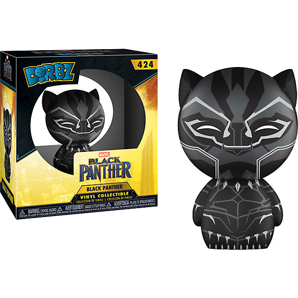 Funko Фигурка Dorbz: Marvel: Black Panther: Чёрная пантера, 24086
