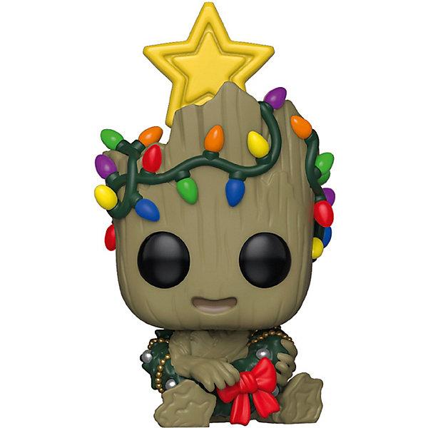 Funko Фигурка POP! Bobble: Marvel: Рождественский Грут, 43333