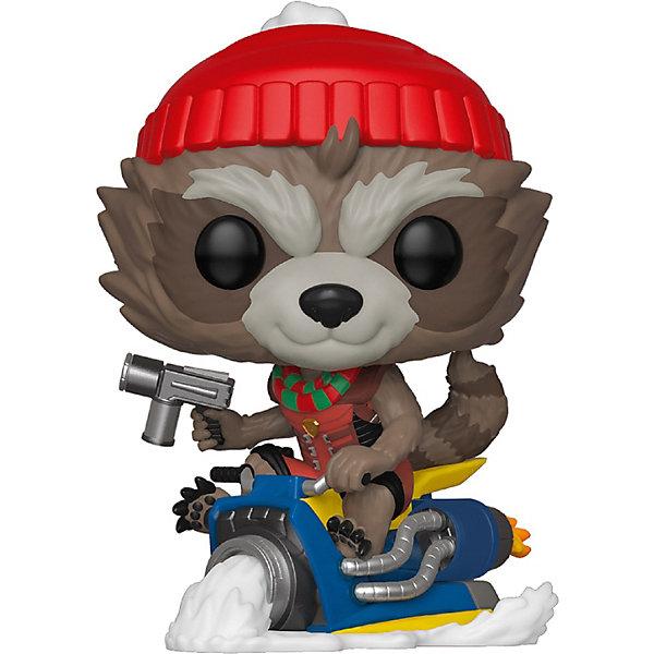 Funko Фигурка POP! Bobble: Marvel: Рождественский Ракета, 43334