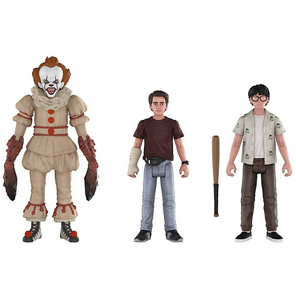 Funko Набор фигурок Action Figures: Оно Пеннивайз, Ричи и Эдди, 30012