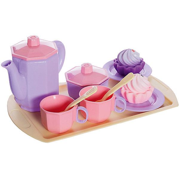 Огонек Набор посуды чайный Огонёк Принцесса с кексами
