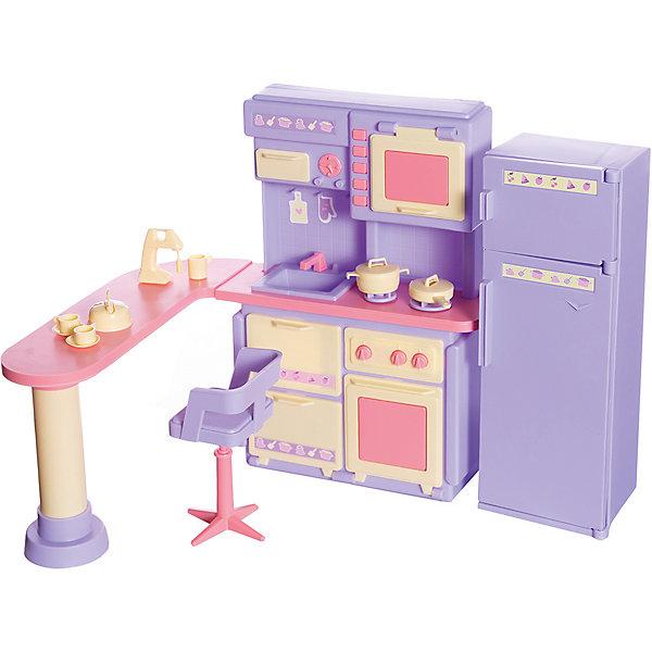 Огонек Кухня Огонёк Маленькая принцесса, сиреневая
