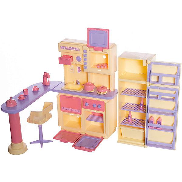 Огонек Кухня Огонёк Маленькая принцесса, лимонная