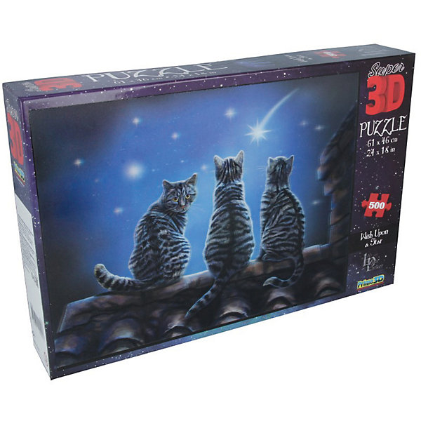 Prime 3D Пазл «Желание на звезду», 500 деталей (стереоэффект)