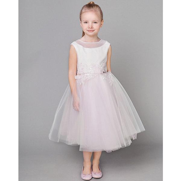 Купить Нарядное платье Choupette, Россия, блекло-розовый, 116, 98, 122, 140, 104, 128, 134, 110, Женский