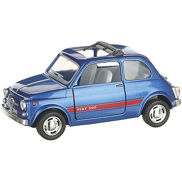 Купить Коллекционная машинка Serinity Toys Fiat 500, синяя, Гонконг, Унисекс