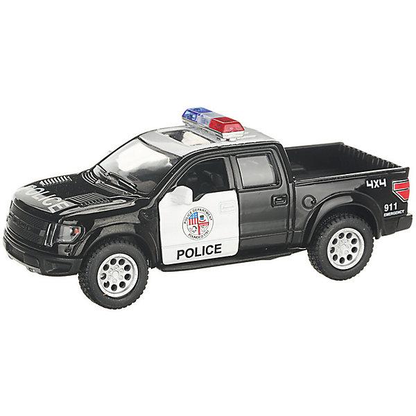 Serinity Toys Коллекционная машинка Serinity Toys 2013 Ford F-150 SVT Raptor Полиция, чёрно-белая машинка на радиоуправлении yako toys toys джип пластмасса металл от 6 лет чёрно оранжевый