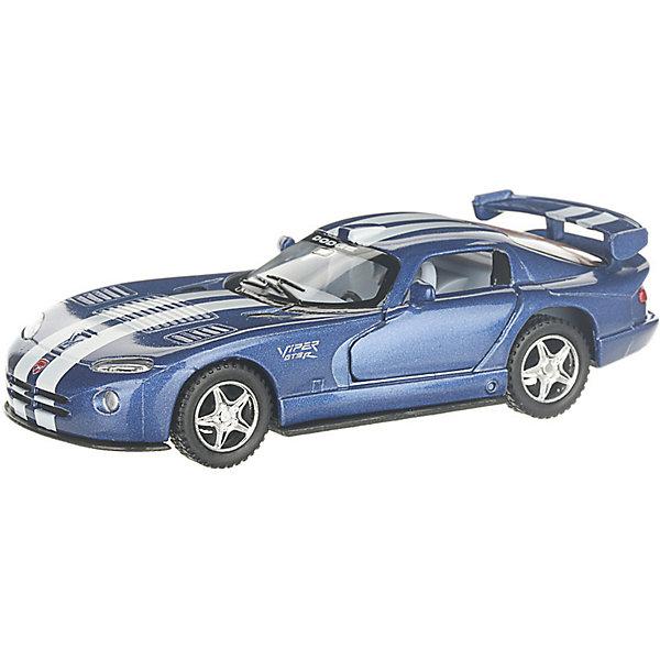 Фото - Serinity Toys Коллекционная машинка Serinity Toys Dodge Viper, синяя serinity toys коллекционная машинка serinity toys mclaren p1 синяя