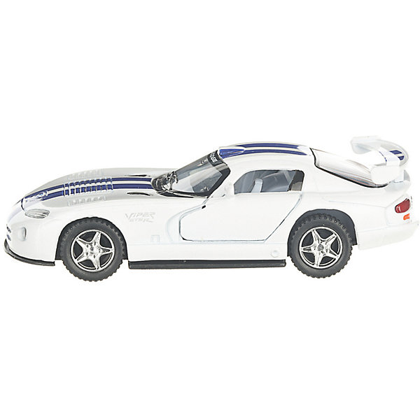Serinity Toys Коллекционная машинка Serinity Toys Dodge Viper, белая serinity toys коллекционная машинка serinity toys 2010 porsche 911 gt3 rs полиция чёрно белая