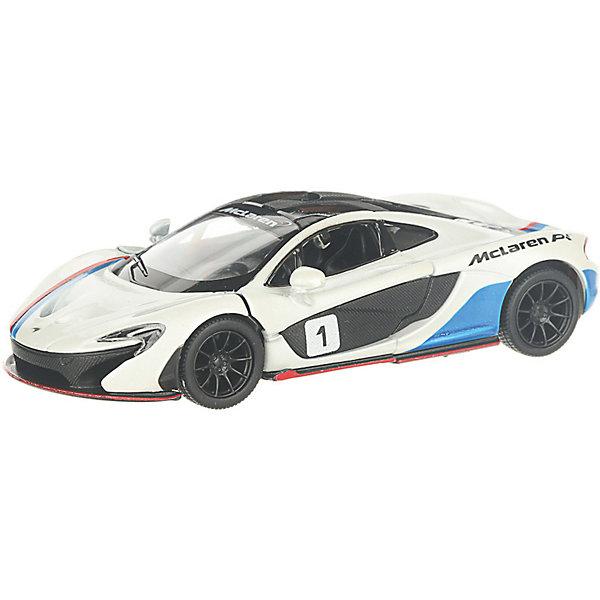 Фото - Serinity Toys Коллекционная машинка Serinity Toys McLaren P1, белая serinity toys коллекционная машинка serinity toys mclaren p1 синяя