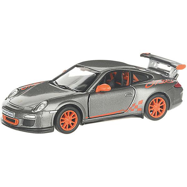 Serinity Toys Коллекционная машинка Serinity Toys 2010 Porsche 911 GT3 RS, тёмно-серая serinity toys коллекционная машинка serinity toys 2010 porsche 911 gt3 rs полиция чёрно белая