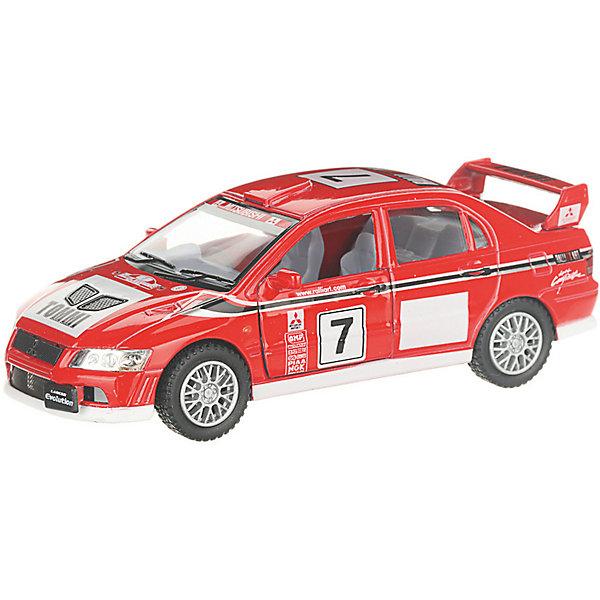 Serinity Toys Коллекционная машинка Mitsubishi Lancer Evolution 7 WRC, красная