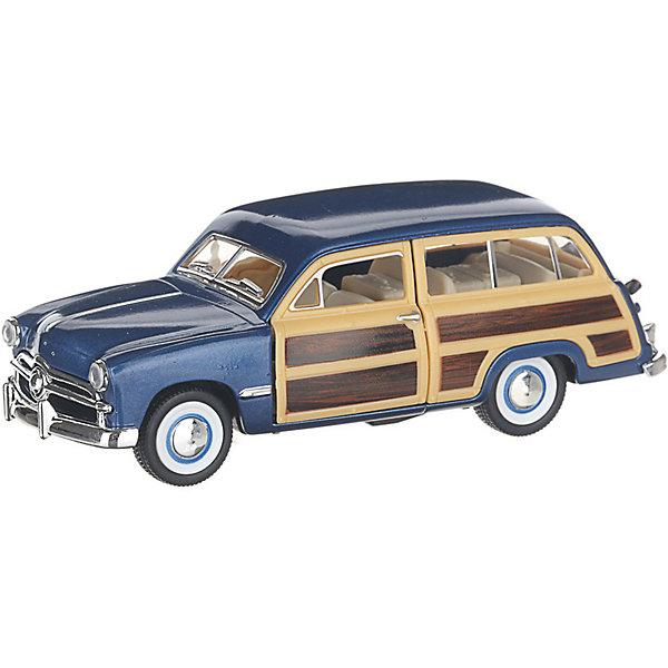 Serinity Toys Коллекционная машинка Serinity Toys 1949 Ford Woody Wagon, синяя 1932 ford woody