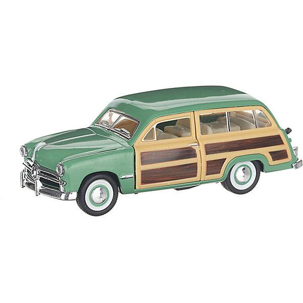 Serinity Toys Коллекционная машинка Serinity Toys 1949 Ford Woody Wagon, зелёная 1932 ford woody