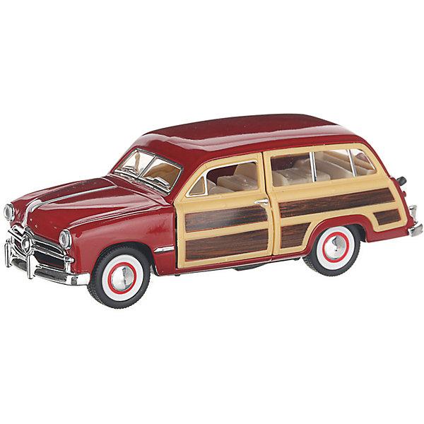 Serinity Toys Коллекционная машинка Serinity Toys 1949 Ford Woody Wagon, красная 1932 ford woody