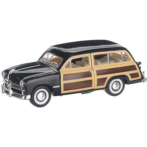 Serinity Toys Коллекционная машинка Serinity Toys 1949 Ford Woody Wagon, чёрная 1932 ford woody