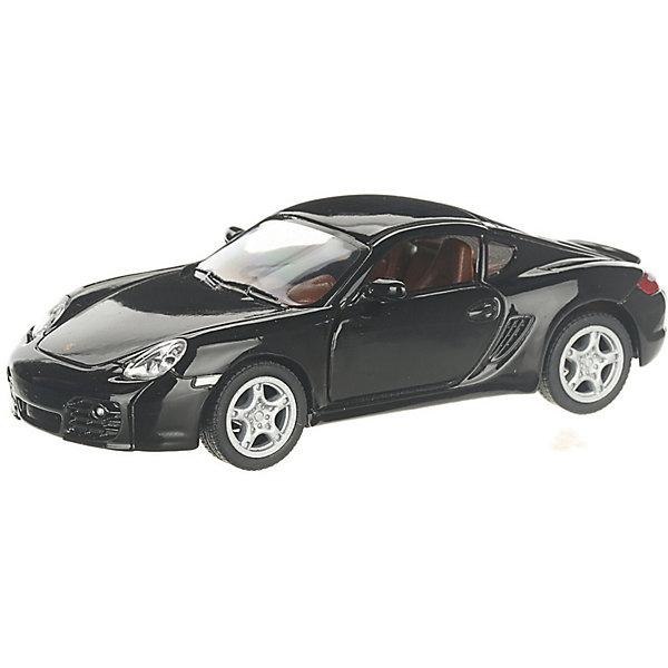 Serinity Toys Коллекционная машинка Porsche Cayman, чёрная